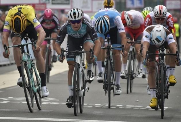 Bryan Coquard wint vierde etappe, Mike Teunissen is de nieuwe leider in de Vierdaagse van Duinkerke