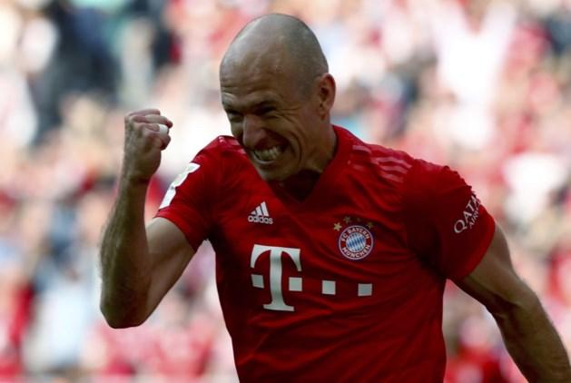 Afscheid in stijl: oudjes Robben en Ribéry helpen Bayern München in afscheidsmatch aan zevende titel op rij