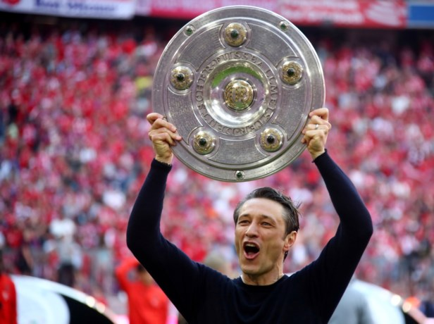 "Niko Kovac na titel met Bayern: ""Ik blijf"""