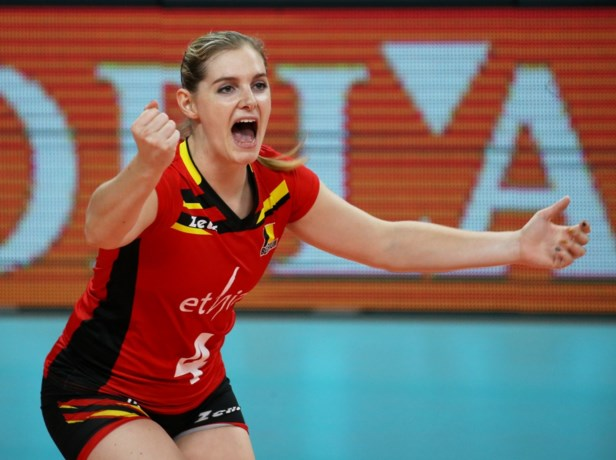 Valérie Courtois (28) stopt met topvolleybal