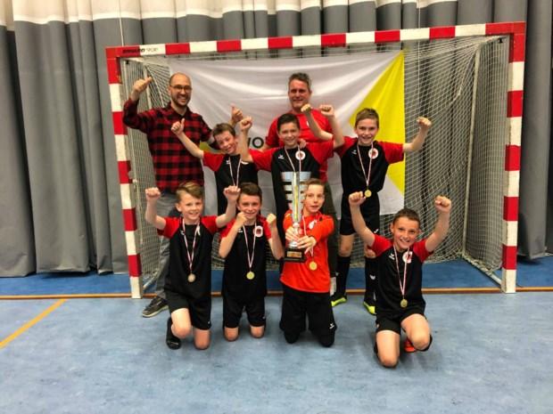 OVERZICHT. Dit zijn de winnaars van de Beker van Limburg in het zaalvoetbal