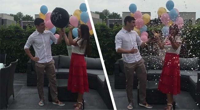 Roksana Malinovskyi zwanger van een meisje