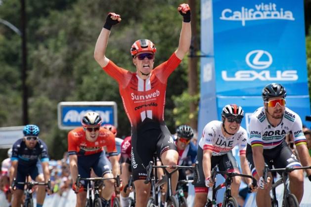 Dagwinst voor Cees Bol in Ronde van Californië, eindwinst voor piepjonge Sloveen Tadej Pogacar