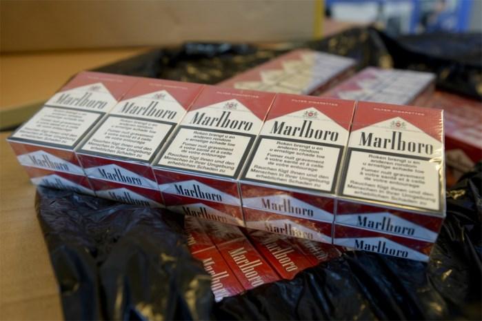 Douane onderschept ruim 110 miljoen illegale sigaretten