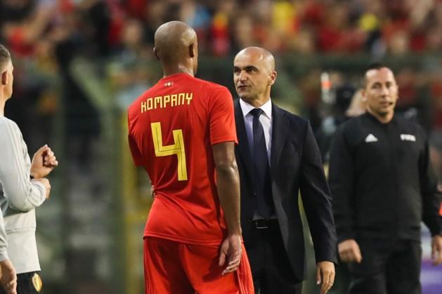 Martinez selecteert Kompany en één debutant voor EK-kwalificatieduels