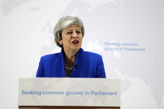 Mogelijkheid voor nieuw referendum in ultieme poging tot Brexit-deal van Theresa May