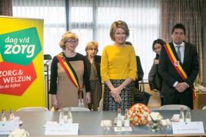 Veerle Heeren mocht foto koningin Mathilde niet gebruiken in verkiezingsfolder