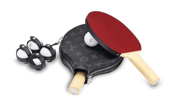 Pingpongen met palletjes van Louis Vuitton: dat is dan 1.500 euro