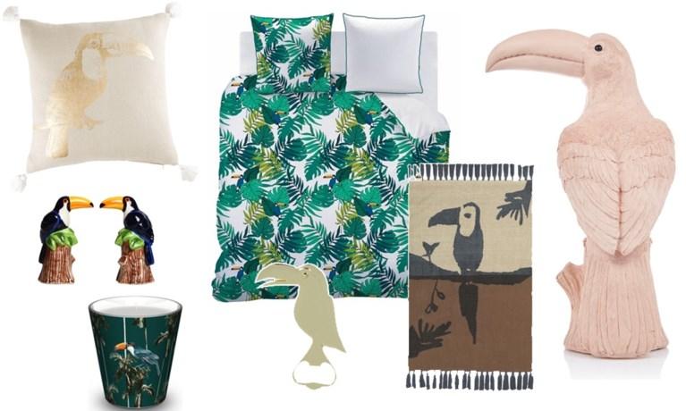 Vlieg opzij, flamingo: deze zomer is van de toekan