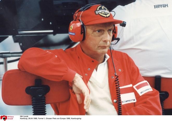 Genkse Ferrari-club herdenkt Niki Lauda zondag op Circuit Zolder