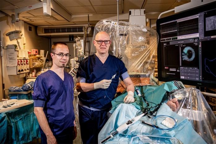 Hele wereld leert in Jessa nieuwe techniek voor hartritmestoornissen