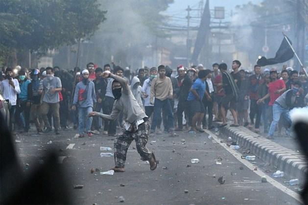 Zes doden en tweehonderd gewonden bij zware rellen na verkiezingen Indonesië