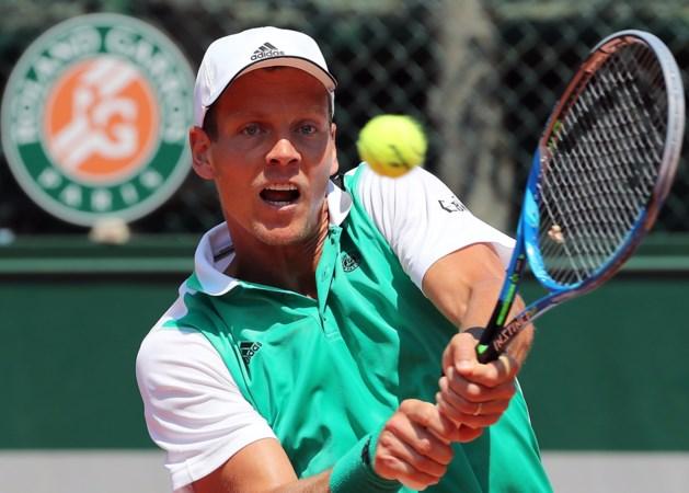 Tomas Berdych geeft forfait voor Roland Garros