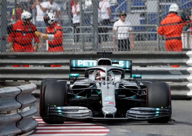 Lewis Hamilton voorlopig het snelst met auto van zijn dromen