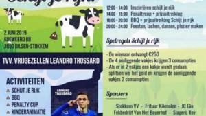 Vrienden organiseren 'Schijt je rijk' voor vrijgezellenfeest Leandro Trossard