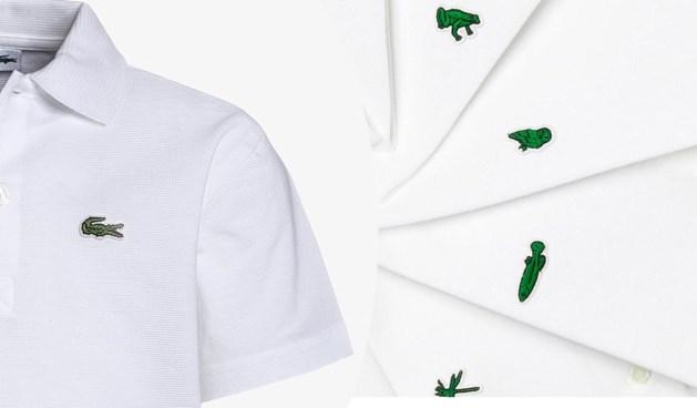 Lacoste doet het weer even zonder iconische krokodil