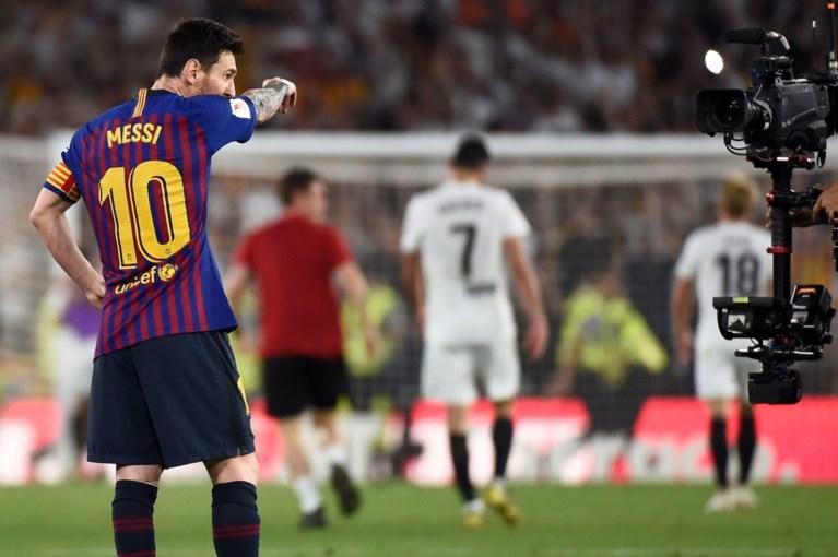 Valencia houdt Barcelona van vijfde bekerwinst op een rij