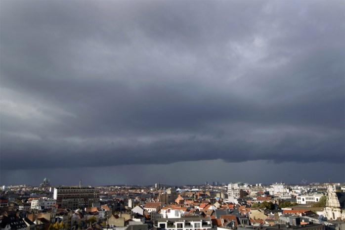 Code geel: KMI waarschuwt voor onweer en fikse buien