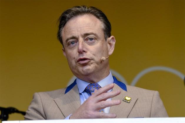 """Bart De Wever (N-VA): """"Voor mij is er maar één campagnethema: links, of centrumrechts"""""""
