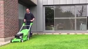 Pampers verversen en grasmaaien: dit was de ochtend voor de Limburgse lijsttrekkers