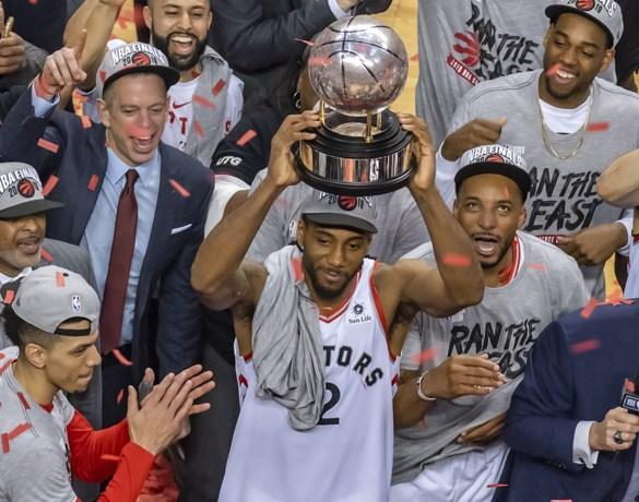 Toronto Raptors staan voor het eerst in NBA-finale