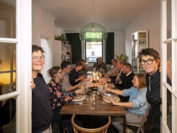 Vegan restaurant in Runkst: eten in de huiskamer van Kaat