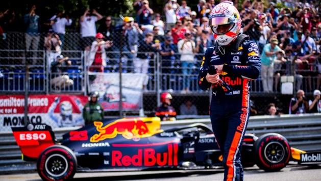 Max Verstappen tijdens GP van Monaco verkozen tot 'Driver of The Day'