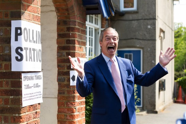 Brexit Party wint, Nigel Farage waarschuwt voor zelfde resultaat in nationale verkiezingen
