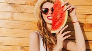 Vier keer watermeloen voor bij de barbecue