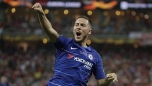 Afscheid met een hoogtepunt: Hazard schenkt Chelsea met twee goals en een assist de Europa League