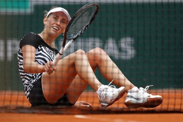 Elise Mertens laat vijf matchpunten liggen en verliest heroïsche marathonmatch met 11-9 in derde set