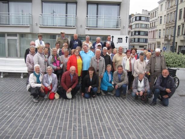 Gepensioneerden van Termolen gaan uitwaaien in Oostende