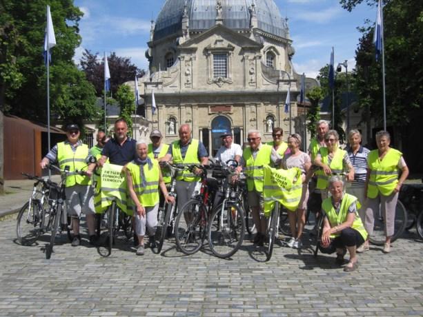 Gepensioneerden van Termolen fietsen naar Scherpenheuvel