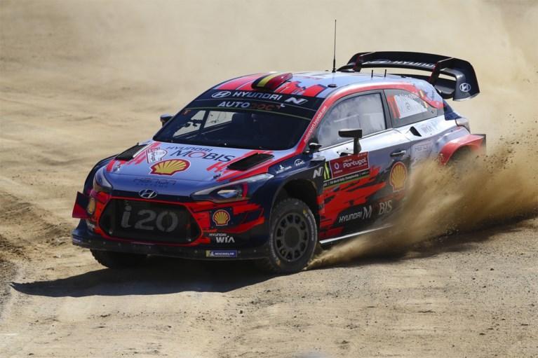 Tänak besluit de dag als leider, Neuville zet druk op Meeke in Rally van Portugal