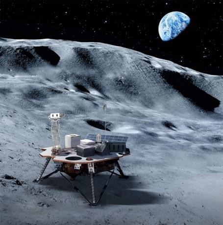 Nasa investeert 250 miljoen dollar in voorbereiding reis naar maan