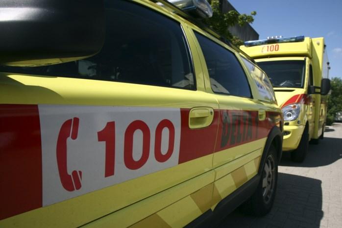 Vrouw zwaargewond bij aanrijding in Hasselt