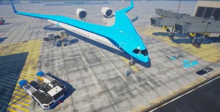 Vliegen we binnenkort met V-vormige vliegtuigen?