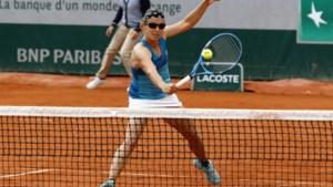 ROLAND GARROS. Kirsten Flipkens stoot door in dubbelspel, Pliskova uitgeschakeld in enkelspel