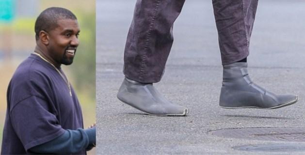 Maakt Kanye West na de koersbroek nu ook de duikschoen populair?