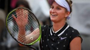 Tsjechische tienersensatie wil haar idool Kim Clijsters achterna
