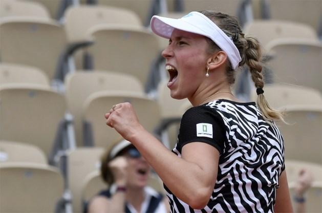 Elise Mertens blijft winnen in het dubbelspel