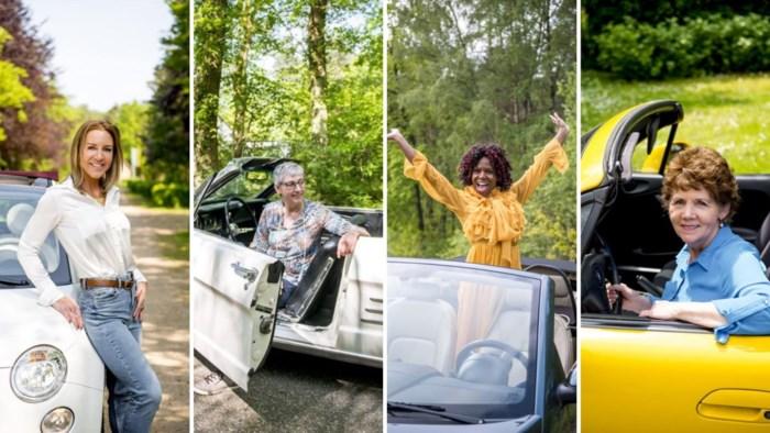 """Vier vrouwen over hun liefde voor de cabriolet: """"Die auto is als mijn kind"""""""