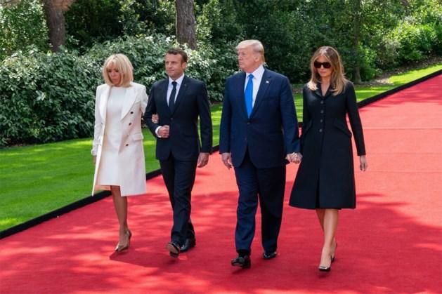 Melania Trump onder vuur door outfit op D-Day