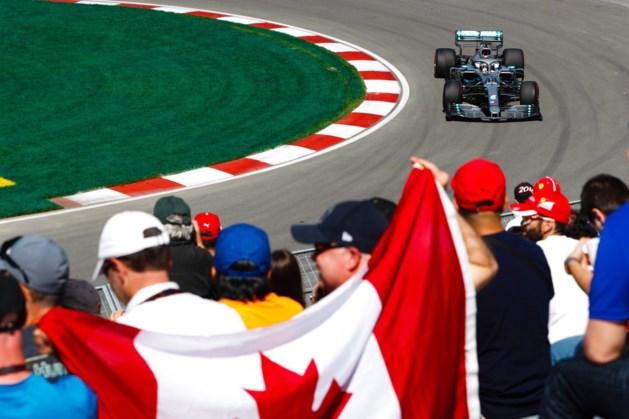Mercedes domineert eerste oefensessie GP van Canada