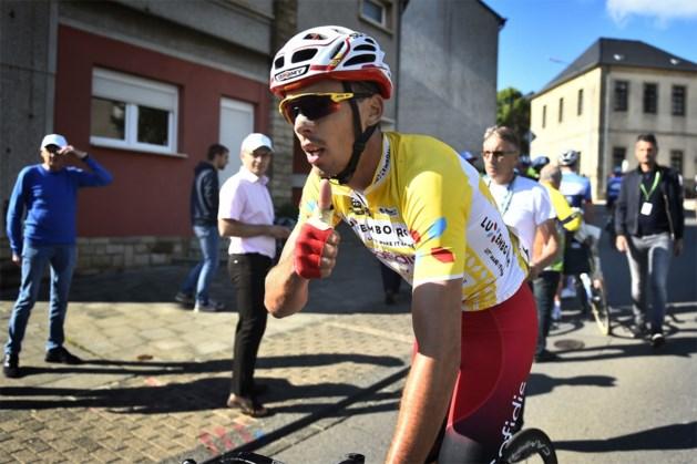 Leider Christophe Laporte geeft op in derde etappe van Ronde van Luxemburg