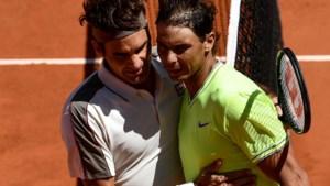 Ook Federer kan Nadal niet temmen