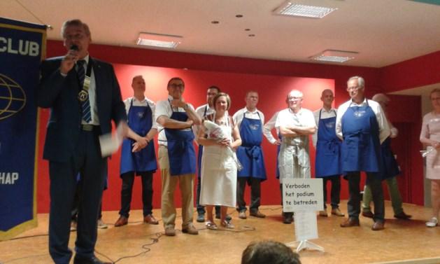 Kiwanis het Graafschap Borgloon schenkt 12.500 euro aan goede doelen