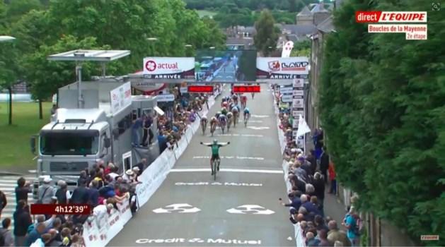 Bask Jon Aberasturi wint tweede rit in Boucles de la Mayenne