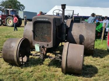 Jaarlijkse tractorenshow in Bocholt