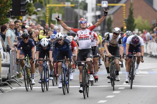 Gerben Thijssen sprint naar winst in Memorial Philippe Vanconingsloo, Quinten Hermans wint Sinksenkoers in Averbode